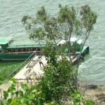 Boat cruise in Kazinga